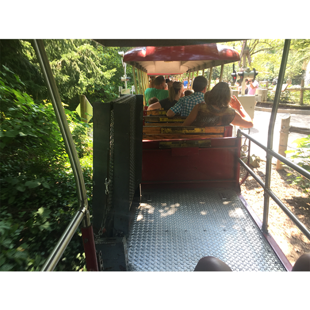 Cincinnati Zoo train wheelchair access 8